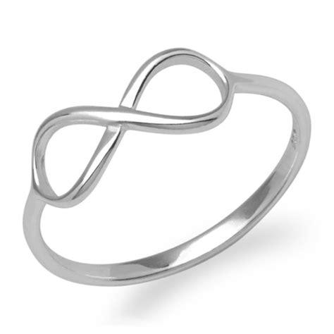 eheringe unendlichkeitszeichen silberner ring unendlichkeitssymbol 925er silber sr0302