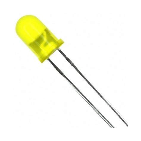 yellow led resistor led 5mm yellow leds box electronica shop standard