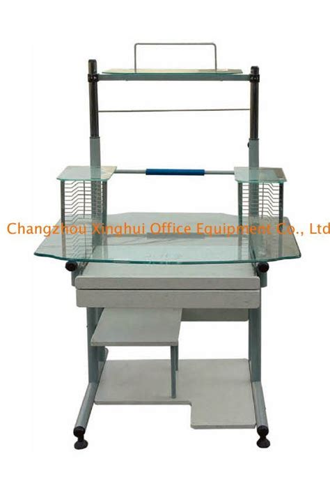 Tempered Glass Desk by China Tempered Glass Computer Desk C 22b China Tempered Glass Computer Desk Computer Table