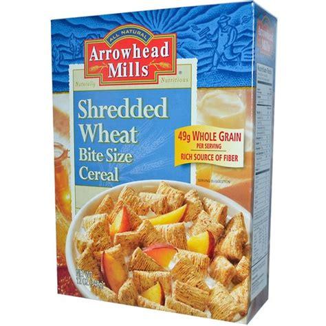 Wheat Detox Headache by Arrowhead Mills Shredded Wheat Bite Size Cereal 12 Oz