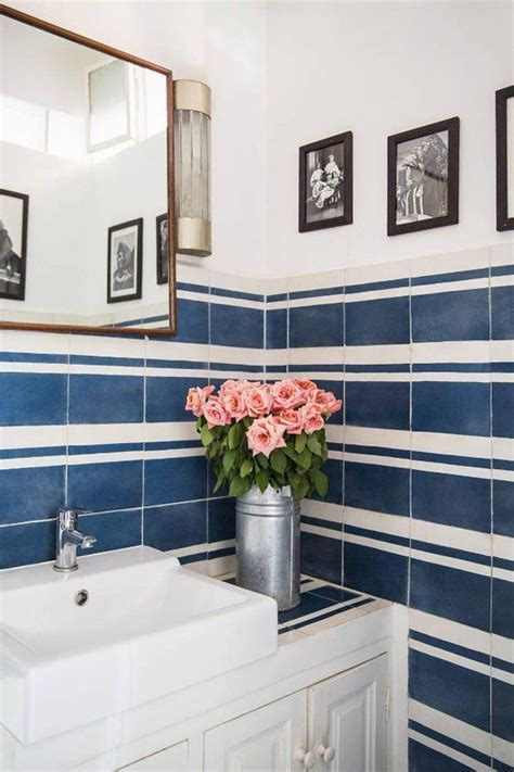 bathroom tiles blue and white 40 dark blue bathroom tile ideas and pictures