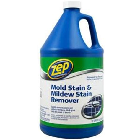 Bathroom Mold Removal Home Depot Zep 1 Gal Mold Stain And Mildew Stain Remover Zumildew128