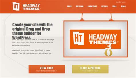 headway themes gallery headway 3 2 drag drop wordpress theme builder framework