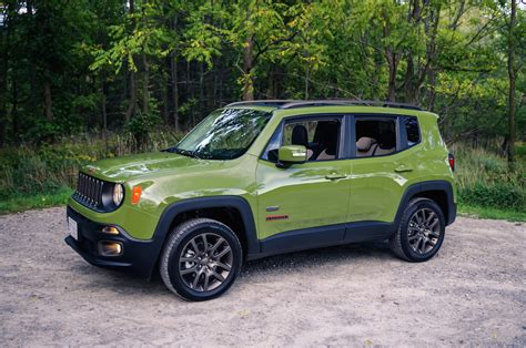 jeep open roof review 2016 jeep renegade 75th anniversary edition