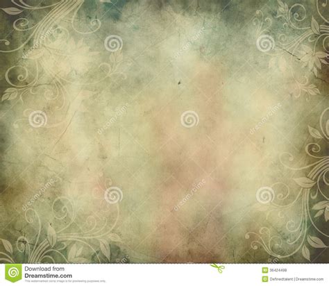 Wedding Announcement Backgrounds by Vintage Background With Swirls Stock Illustration Image