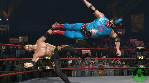 tna impact total nonstop action wrestling ps games
