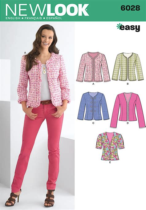jacket pattern simple jacket sewing pattern gray cardigan sweater