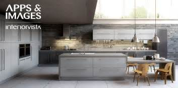 White And Grey Kitchen Designs White Grey Kitchen Interior Design Ideas
