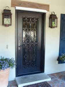 custom wrought iron doors doors by design