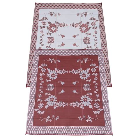 9x12 indoor outdoor rug 9x12 burgundy wine indoor outdoor reversible rv mat