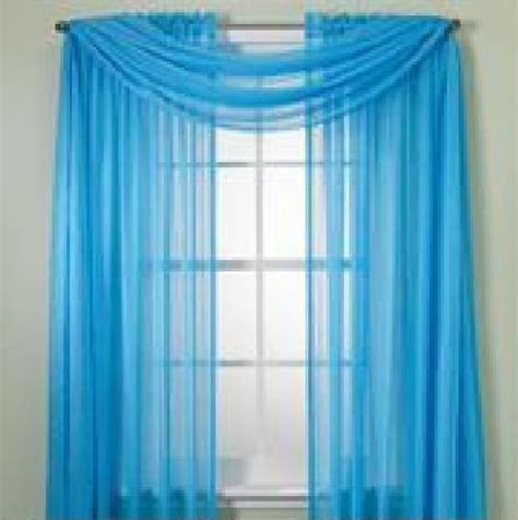 Bright Turquoise Curtains Monagifts 2 Panels Bright Turquoise Sheer Voile Window Panel Curtains 59 Quot Width X 84 Quot Length