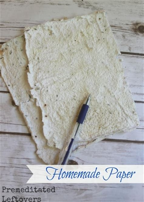 How To Make Handmade Paper - how to make paper