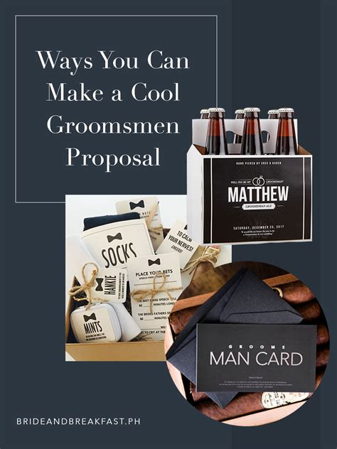 7 Ways To Prepare For February Doldrums by Cool Groomsmen Ideas Philippines Wedding