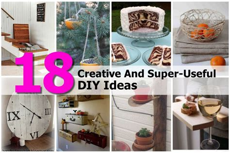 Useful Handmade Crafts - 18 creative and useful diy ideas