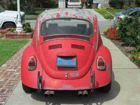 sell   volkswagen beetle vw bug cccal bug project car  west covina california