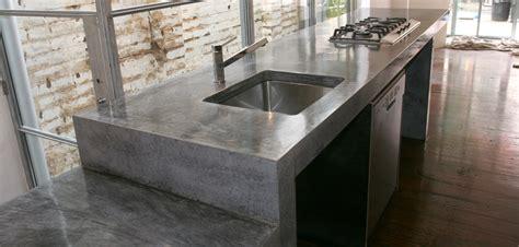 concrete bad colour kitchen polished