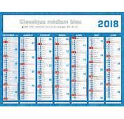 Calendrier 2016 Avec Vacances Scolaires  2017 2018 Best