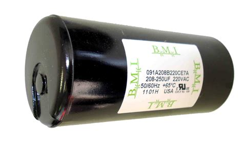 franklin electric well capacitor galleon 208 250 mfd uf 3 hp well box motor start capacitor 275463111 for