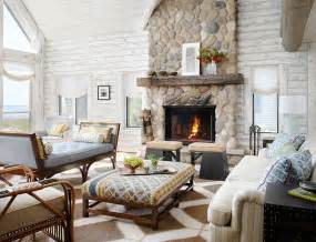 Pictures Of Log Home Interiors by Whitewashed Cabin Grounded Luxury And Tranquil Escapes By