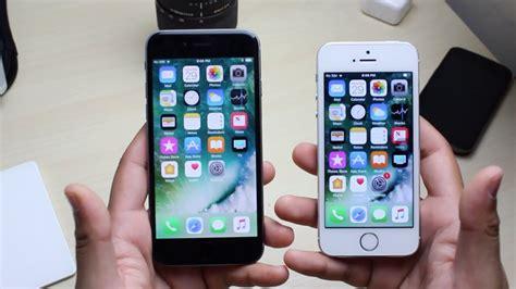 iphone 5s ios 11 vs iphone 6 ios 11 beta 4