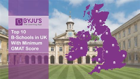Gmat Score For Mba In Uk by Top 10 B Schools In Uk With Minimum Gmat Score Best B