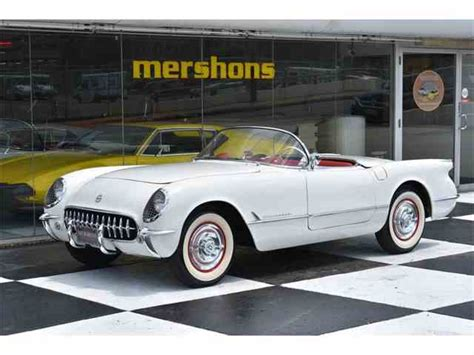 classic cars corvette 1952 to 1954 chevrolet corvette for sale on classiccars
