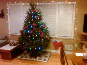 our 1st real christmas tree a running blog with some