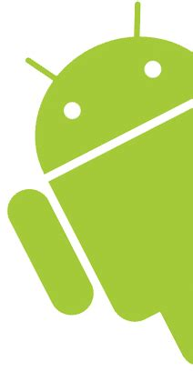 android pictures android logo peeking free archive