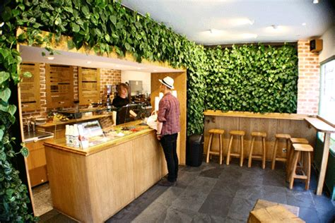coffee shop garden design more living walls interiors interiors pinterest