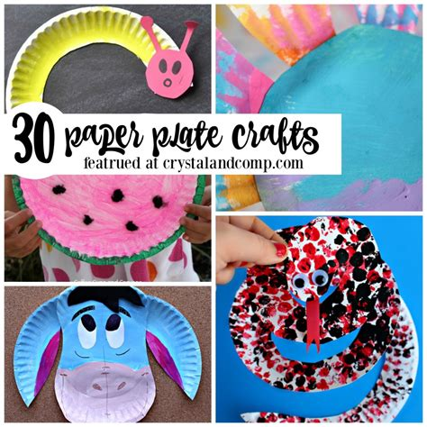 Paper Plates Crafts For Toddlers - paper plate crafts for