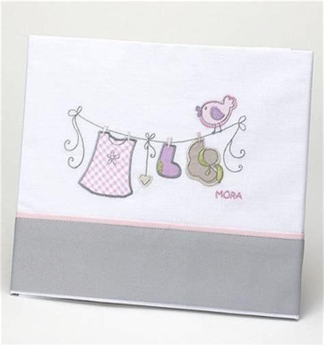 sabanas para cunas de bebe juego de s 225 banas de cuna para beb 233 con tendedero bordado