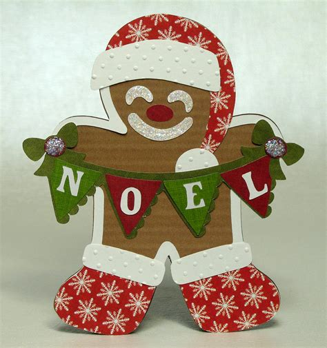 the paper boutique gingerbread card