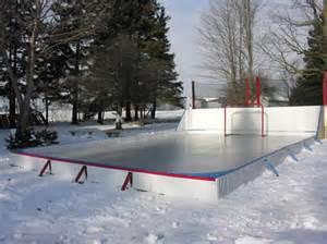 Backyard Hockey Rink Liner Outdoor Ice Rink Liners Tarps World Class Gold Standard