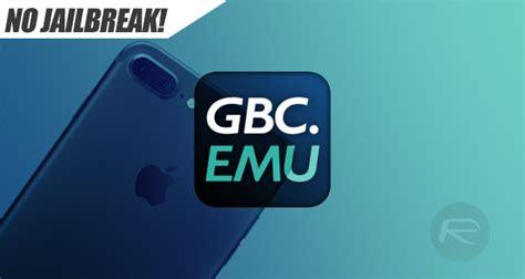 gameboy color emulator iphone how to install gbc emu boy color emulator on ios 10
