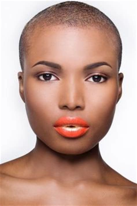 african american women with low or bald heads black woman with shaved head looks so fierece as tyra