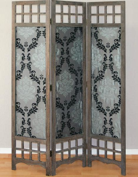 fabric room dividers wooden and fabric room divider screen 3 panel room