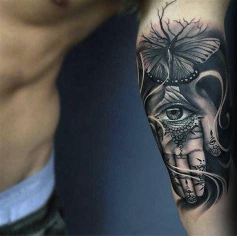 80 hamsa tattoo designs for men evil eye ink ideas