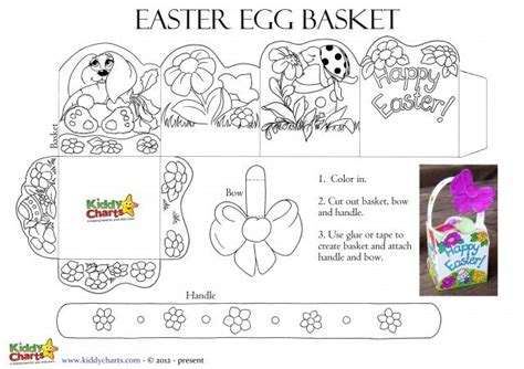 printable paper easter egg baskets easter egg hunt printables for fab chocolate fun