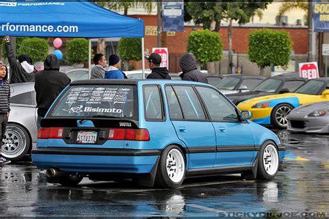 bisimoto wagovan norm reeves honda 2011 car show toy drive coverage part 2