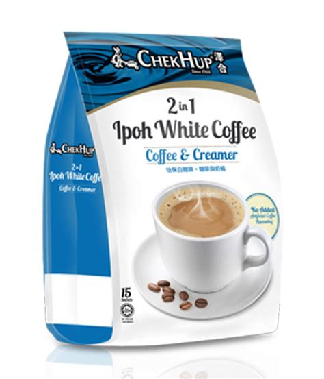 White Coffee 1 Renteng chek hup 2 in 1 ipoh white coffee coffee creamer white coffee market malaysia