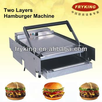 Toaster Burger food production machine burger buns toaster buy burger