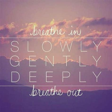 Breathe It All In just breathe best practice