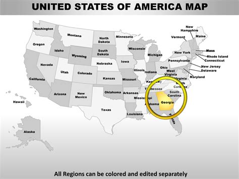 gis powerpoint templates usa state powerpoint county editable ppt maps and