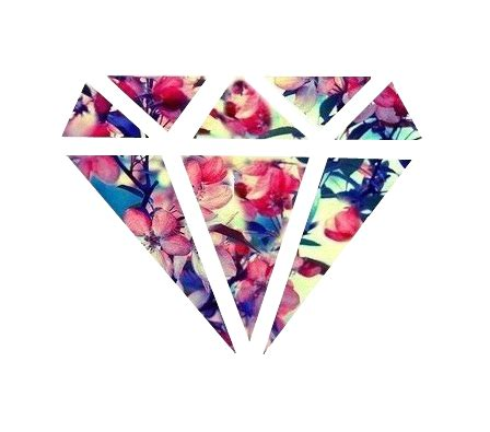 girly diamond wallpaper transparent diamond tumblr