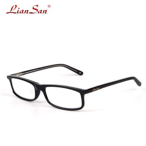 2016 liansan brand designer acetate reading glasses