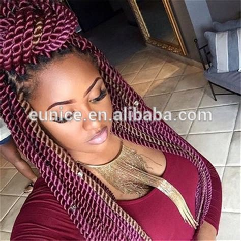 medium size packaged pre twisted hair for crochet braids wholesale pre twisted hair senegalese crochet hair