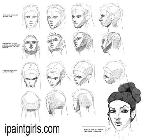 human vector tutorial heads faces angles tutorial by discipleneil777 deviantart