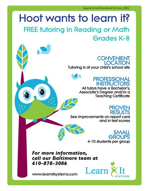 15 cool tutoring flyers printaholic com