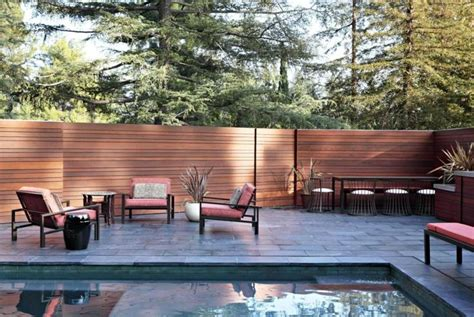 La Canada Pool And Patio by Mural Of Backyard Fencing Ideas For Your Beautifull Garden