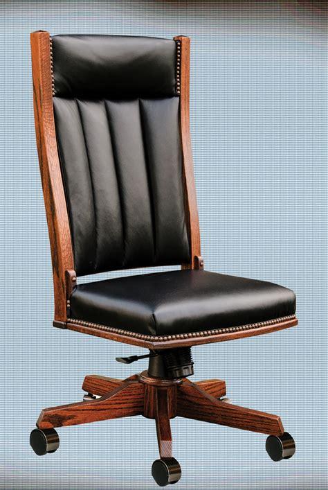 chair with side desk oakwood furniture amish furniture in daytona